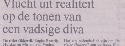NRC ( NL) De Rivier Okkervil: Vlucht uit de realiteit ....