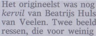 Volkskrant, Peter van Bueren